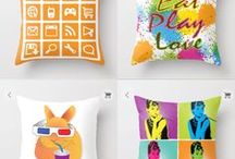 My designs' online shop / My designs are available at various products on Redbubble, Society6, DesignByHumans and Teepublic.  Copyright reserved.