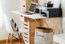 WORKSPACE & CRAFTROOM / workspace and craftroom ideas
