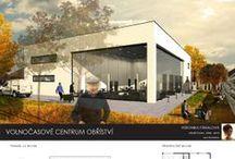 Centrum Obříství   ATV2_2013/2014 / Projekty, které vznikly v rámci projektu OPPA Inovace studijního programu A+S v atelieru Čajka - Kerel - Srch. ZS 2013/2014. FSv ČVUT v Praze.