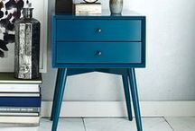 Furniture Ideas / Upcycling, painting, repairing, upholstering…..