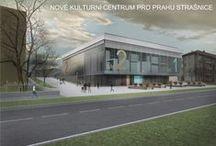 Kulturní centrum pro Prahu Strašnice AT3_2013/2014 / Projekty, které vznikly v rámci projektu OPPA Inovace studijního programu A+S v atelieru Pešková - Košatka. LS 2013/2014. FSv ČVUT v Praze.