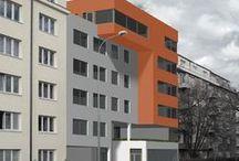 Bytový dům K Botiči/ bytový dům Gen. Píky|ATA1_2013/2014 / Projekty, které vznikly v rámci projektu OPPA Inovace studijního programu A+S v atelieru Stupka - Franče. LS 2013/2014. FSv ČVUT v Praze.
