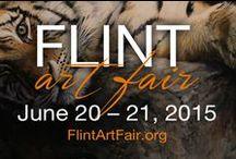 Flint Art Fair / Celebrating the Flint Art Fair! For more info, visit http://www.flintartfair.org