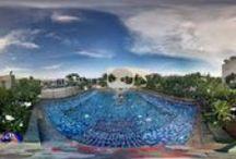 Pooler i olika länder / Här ser du vad vi har badat i för slags pool. Se olika pooler från olika länder som vi gjort resor till. För mer information se www.denandraresan.com