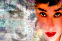 Audrey Hepburn / Dedicated to British actress, humanitarian, and film / fashion icon, Audrey Hepburn #GoldenAge #ClassicHollywood #AudreyHepburn
