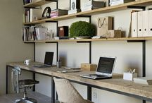 Office Ideas & Design / Beautiful and functional offices bring out creativity, energy and productivity in us – all essential to achieving goals. What do you consider crucial in an office?