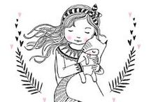Marieke ten Berge / Beautiful illustrations by Marieke ten Berge {available at Petite Louise + Petite Louise- wholesale}