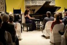 Founders Society Recitals / Every other year, the FIA's Founders Society holds a recital with performances from world-renowned musicians from pianists to clarinetists.