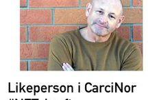 CarciNor likepersoner / Likepersonarbeid i CarciNor