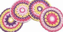 My crochet doilies on Etsy! / Crochet doilies and coasters!