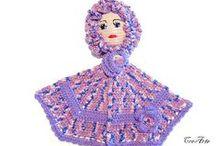 My kitchen items on Etsy / My crochet works on Etsy