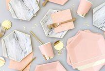 COLOR INSPIRATION | Rose Quartz & Rose Gold & Grey