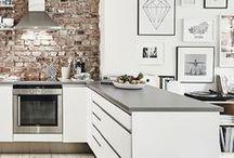 •kitchen area •