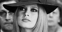 Brigitte Bardot ❀✿ Initials B.B. / Born in 1934 BB is a French icon. Movie actress, former model and a renowned singer. Great activist for animal rights, Brigitte Bardot is now founder and president of the foundation that bears his name.  The iconic look of Brigitte Bardot has transcended time. Cocteau pour B.B. : 'Elle vit comme tout le monde tout en étant comme personne'