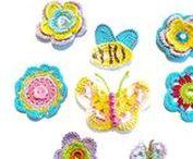 My crochet appliques