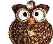 My crochet potholders