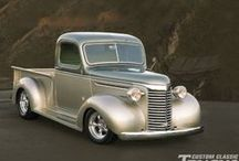 Classic Trucks / Classic pickup trucks that make us smile. Some are restored classic beauties and others show their age. Either way you gotta love the history of the pickup truck.  / by RealTruck.Com