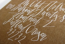 Calligraphy I heart / by Ashley Summers