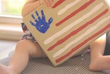 Patriotic Crafts for Kids / Patriotic activities for all holidays including July 4TH activities, crafts, recipes, and more!  Lots of great ideas for kids here, too! #patrioticcrafts