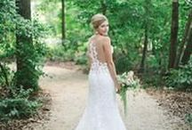 Wedding Dresses / Gorgeous, lacy gowns from local Charlotte bridal boutiques. Which are your favorites?
