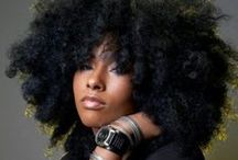 All Hair BIG, Natural & Beautiful / BIG HAIR DON'T CARE! / by E. Whaley