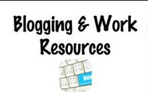 Blogging and Work Resources / Tutorials and resources on how to blog and be more productive at work. A great place to pick up some blogging and work tips. / by Shibley Smiles