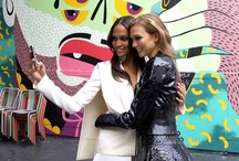 House Of Style | Ep. 2 | Joan Smalls' and Karlie Kloss' Cinemagraph Photo Shoot Looks / See the glamorous looks from Azzedine Alaia, Gucci, Esteban Cortazar, Mugler, Balmain, Altuzarra and John Galliano worn by Karlie Kloss and Joan Smalls for their Cinemagraphs photo shoot in Paris, France. And watch the episode here! http://on.mtv.com/TvJEyi / by MTV Style