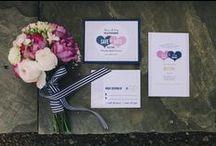 Wedding Invitations and Stationery / Wedding invitations, stationary and signage