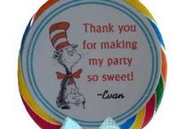 All Things Dr. Seuss Birthday Party Theme for J / Youngest son's birthday celebration / by E. Whaley