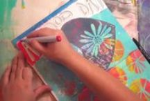 AJ & MM Videos / Art journal and mixed media videos