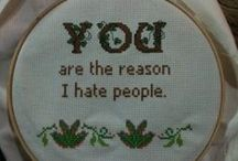 Cross Stitch / by Patty Krehbiel