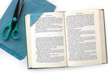 DIY Straight Out of the Books / Find literary inspired crafts as creative as your favorite books.