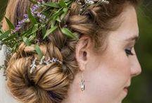 Woodland Wedding Hair/Jewelry/Look
