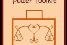 Power Zone Toolkit! / Tools to help harness the power of your intensity!  Check out my post, http://auroraremember.com/harness-your-power/ for more information.