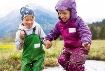 Wetterfest durch den Herbst / Bunte Wälder, Stoppelfelder,... Stepp, Fleece und Softshell halten euch bei Blättersammeln und Drachensteigen warm.
