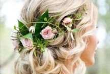 Hairstyles // Bride & Bridesmaids