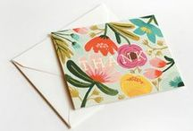 invitations + cards