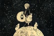 Ilustraciones variopintas / by Carla Mejías