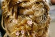 my wedding hair style