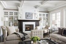 Living & Dining / Living rooms, dining rooms, family rooms, dens, Interior Design, #interiordesign