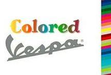 Colored Vespa