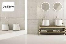 Disegno / Disegno Ceramica levert hoogwaardige keramische toiletpotten en wastafels. Het assortiment bestaat uit zes series. Iedere serie heeft een uniek design, waardoor er altijd een serie is dat aansluit bij uw interieurwensen.