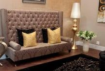 Interior Design / The art or process of designing the interior decoration of a room or building.