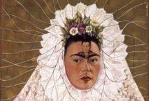 Frida Kahlo e Diego Rivera / Nelle prestigiose sale di Palazzo Ducale di Genova, una grande mostra che presenta al pubblico oltre 120 opere, a cura di Helga Prignitz-Poda, con la collaborazione di Cristina Kahlo (pronipote di Frida) e Juan Coronel Rivera (nipote di Diego), con l'obiettivo di raccontare i legami segreti che unirono due artisti così profondamente differenti e quanto diversamente sia stata valutata la loro espressione artistica nel tempo.