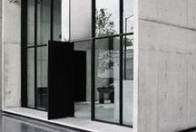 Windows in concrete