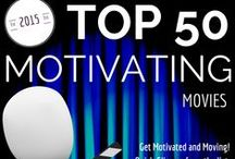 Top Motivational Movies / Run Stroller Run's Top Motivational Movie List that will keep you moving and inspired while spinning on your bike, running on the treadmill or trekking on the elliptical.
