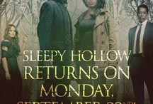 Sleepy Hollow - Tom Mison - Nicole Beharie - Matt Barr - Neil Jackson - Katia Winter - / Ichabod Crane is resurrected and pulled two and a half centuries through time to unravel a mystery that dates all the way back to the founding fathers.