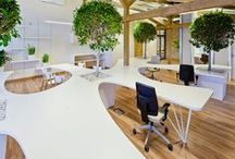 Workspace! / An area allocated for someone to work in, especially in an office. / by JK Portfolio