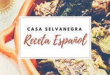 Receta Español / #food #spanisch #spanischeKueche #rezepte #foodblog
