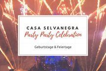 Party Party Celebration / Ideen für Geburtstage & alle Feiertage